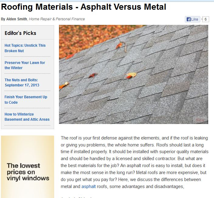 Reasons To Find Metal Roofing Companies In Portsmouth, NH